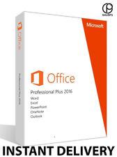 Microsoft Office 2016 PRO Professional Plus clé de licence INSTANT DELIVERY
