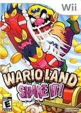 Wario Land: Shake It - Nintendo  Wii Game
