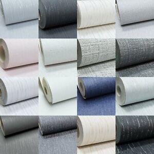 Crystal Glitter Encrusted Plain Mix Textured Vinyl Grey Silver Black Wallpaper