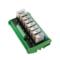 8 Relay Module Omron Eight Panels Driver Board Module DC 24V 10A PNP + Shell