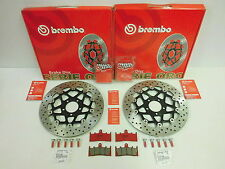 Brembo Bremsscheiben bremse vorne Schrauben Bremsbeläge Kawasaki Zx6r 600