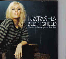 Natsha Bedingfield-I Wanna Have Your Babies Promo cd single