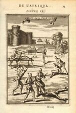 Barbary. Christian slaves being tortured. 'Esclaves Chretiens'. Mallet 1683
