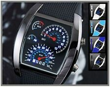 Rectangle Stainless Steel Unbranded Digital Wristwatches