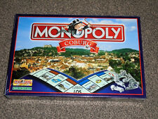 MONOPOLY COBURG : GERMAN EDITION - RARE NEW & FACTORY SEALED GAME (FREE UK P&P)
