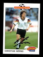 Christian Wörns  DFB Panini Action Card 1992-93 TOP +A 116748 D