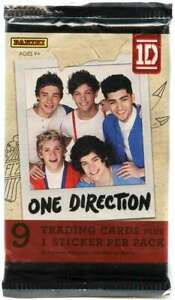 Lot Of 100 - Panini One Direction 9 Card Sealed Packs -WHOLESALE LARGE QTY