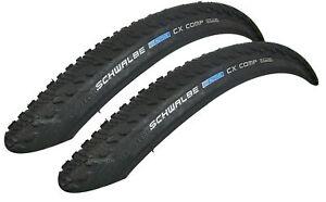Set 2x Schwalbe CX Comp Active Line Drahtreifen Cyclocross 28x1.35 NEU