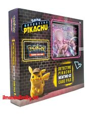 Pokemon Detective Pikachu Mewtwo GX Case File in inglese