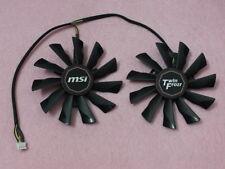 95mm MSI GTX 750 760 770 780 Twin Frozr Video Card Dual Fan PLD10010S12HH R149b