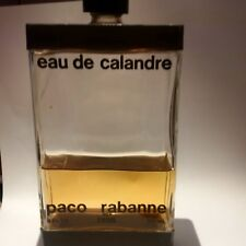 EAU DE CALANDRE PACO RABANNE 240ML!!NOT VAPO!!RARE AND VINTAGE