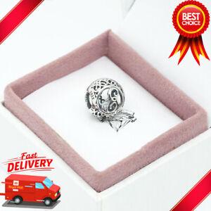 Pandora, Vintage Alphabet, Letter E, Initial, Bracelet Charm 791849CZ