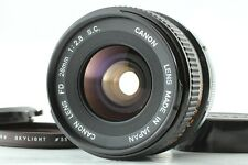 [EXC++++] Canon FD 28mm f/2.8 s.c. sc Wide Angle MF Lens From JAPAN