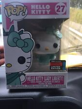 Funko Pop Hello Kitty Lady Liberty 2019 NYCC Exclusive Sticker w/ Protector
