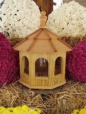 Wood Gazebo Amish Homemade Handcrafted Handmade Bird Feeder