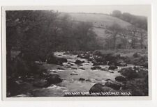 East Dart Above Dartmeet Vintage RP Postcard Chapman 179a