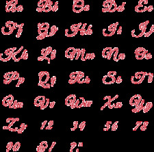 Quickutz/Lifestyle Crafts (FINALE-G) Finale Alphabet w/  Library Storage Binder