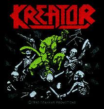 Kreator-pleasure to kill ricamate patch THRASH SPEED Heavy Metal Nuovo tonaca