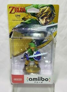 Skyward Sword Link Amiibo The Legend of Zelda Series Breath Wild Box Damaged