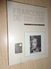CD N°3 DE GREGORI FRANCESCO DE GREGORI CONTEMPORAIN 1978 ALICE NON LO SA