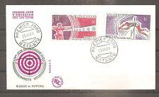 WALLIS ET FUTUNA FRANKREICH FDC 1971 PA N°39/40 OBLITERE USED 1ER JOUR