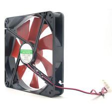 140mm PC Case Cooling Fans 14cm DC 12V 4D Plug Computer Cooler Silent Quiet