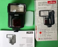 Metz 36 AF-5 Digital flash for Micro 4/3 mft Olympus/Panasonic