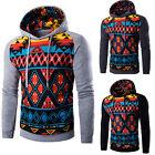 Warm Winter Men Hoodies Drawstring Hooded Coat Jacket Outwear Sweater Pullover