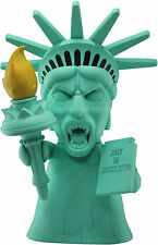 "Doctor who-titans vinyl figure - 8"" weeping angel statue de la liberté-new"