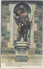 LOWER LARGO Alexander Selkirk (Robinson Crusoe) FIFE Vintage Colour PC 1908