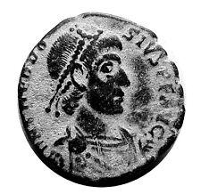 ANCIENT ROMAN COIN - THEODOSIUS 347AD - REPARATIO REIPUB REVERSE #180