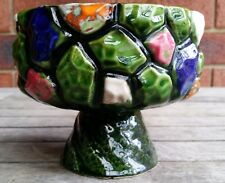 VINTAGE RETRO MID CENTURY CANDY DISH BOWL 1960s DECO WEST GERMANY GERMAN POTTERY
