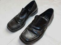 Patrick Cox Leather Slip On Loafers - UK Size 10 - Black - Men- Shoes