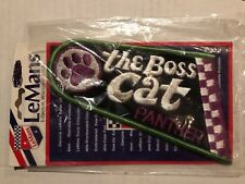 Vintage Patch The Boss Cat Panther Arctic Cat NOS snowmobile Embroidered ski