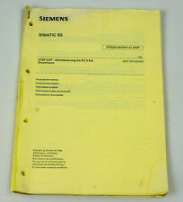 SOFTWARE - SIEMENS SIMATIC S5  STEP 5/ST V6.6