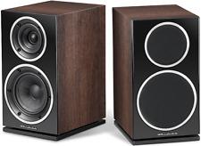Wharfedale Diamond 225 Bookshelf Hi-Fi Speakers Pair Walnut Best Home Stereo