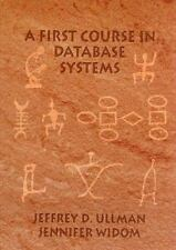A First Course in Database Systems by Jeffrey D. Ullman (1997, Hardcover)