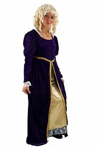 Costume Queen Snow White Princess Cinderella Queen Court Lady Noble Size 38