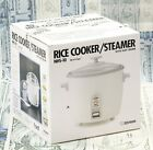 Zojirushi NHS-10 6 Cup Rice Cooker Steamer Warmer White Stainless Steel photo
