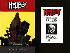 Mike Mignola SIGNED AUTOGRAPHED Hellboy The Chained Coffin SC Brand New Book #3