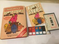 ORIGINAL SINCLAIR SPECTRUM 48K TAPE GAME FIRST STEPS WITH THE MR. MEN COMPLETE