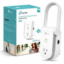TP-Link AC750 Wi-Fi Fast Range Extender with Smart Plug RE270K Work Alexa Google