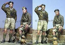 Alpine Mins British Armour Crew + puppy set 35080 WW2 1/35th Unpainted kit