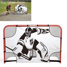 Hockey Net Shooting Target Goal Skill Shot Practice Full Size Goalie Shoot - NEW