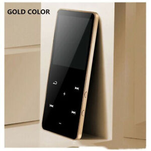 Bluetooth MP3 MP4 Player 4/8/16GB With FM Media Touch Key Sport Music Speakers