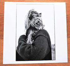 "SIGNED - ELLIOTT ERWITT WOMAN & DOG / IRELAND 1968 6"" x 6"" MAGNUM ARCHIVAL PRINT"