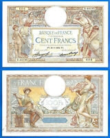France 100 Francs 1934 22 March Serie D Merson Europe Frc Frcs Free Ship Wld