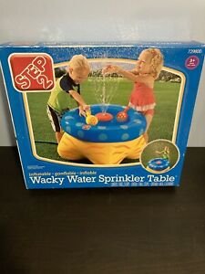 Step 2 Kids Wacky Water Sprinkler Table - Inflatable - Includes 2 Scoops 729800