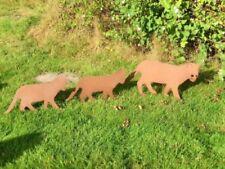 Kleine Gartenfiguren & -skulpturen mit Katzen-Motiv aus Handarbeit