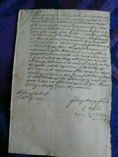 Lord Clifford (Charles IIs CABAL) - Lord High Treasurer  rare signed letter 1673